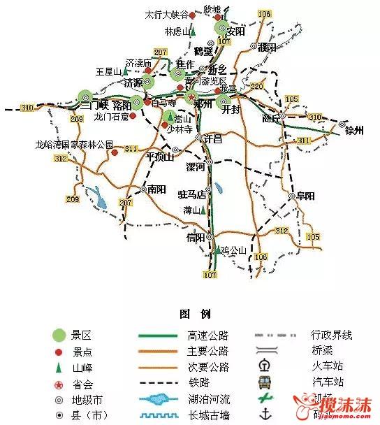 全国旅游地图精简版,放在手机里太方便了 游山玩水 西宁搅沫沫社区图片