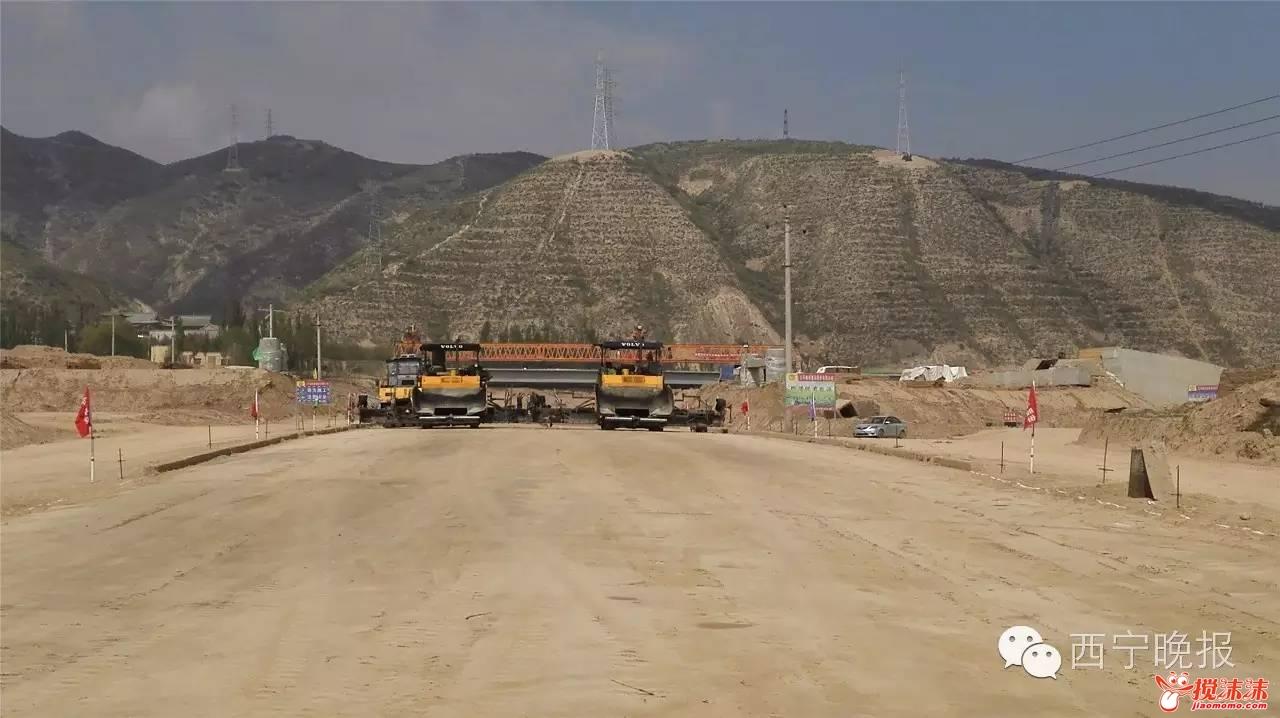 再过6天,南川西路可以直通南绕城高速,西宁还有两条新公路要建成 图片