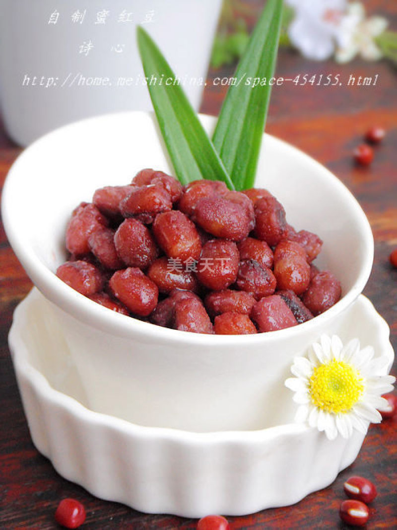 【自制蜜红豆】--- 香香甜甜的幸福味