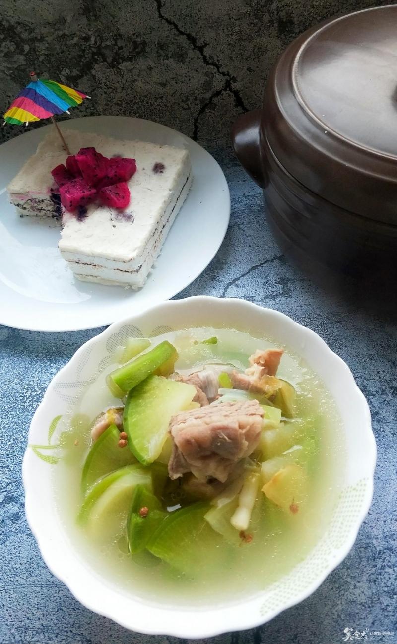 低碳生活一锅两菜由我开启----清蒸羊肉汤-蒸米糕