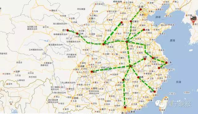 格敦铁路全线通车后,将串起新疆,青海,甘肃,西藏四省区.