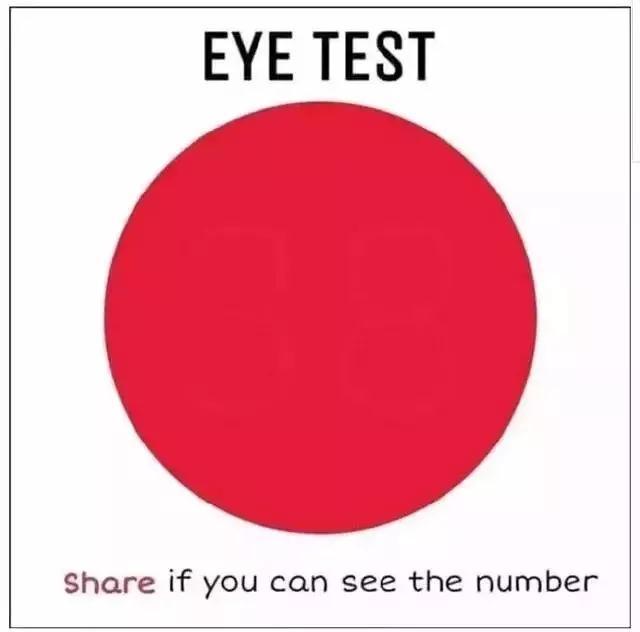 天天都盯着手机看,你的眼睛还好吗?快来测测视力