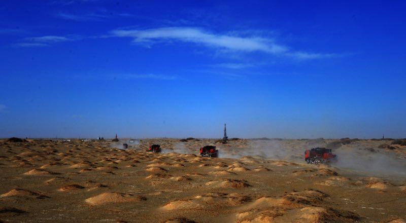 青海连续发现5个亿吨油气田