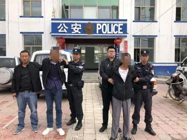青海互助巡警大队便衣反扒再次抓获两名吸毒人员