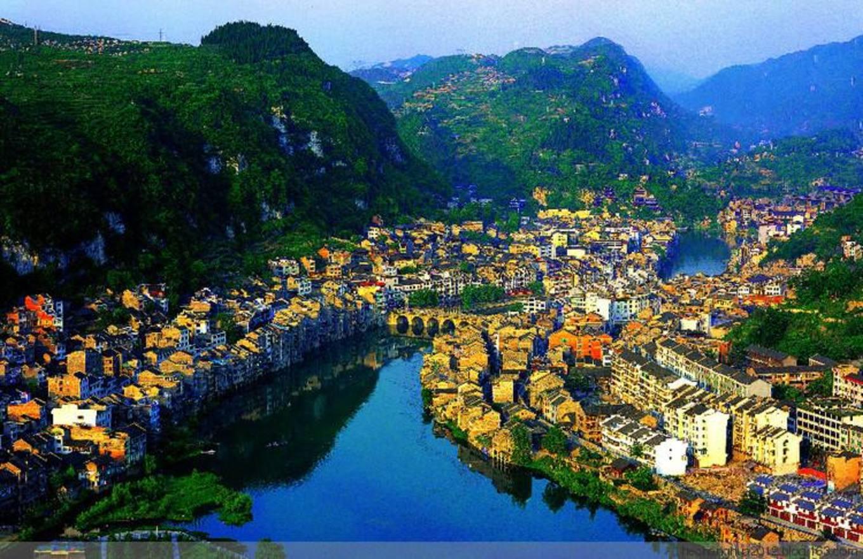 中国五座少见的有山有水的古城,你都去过了吗?