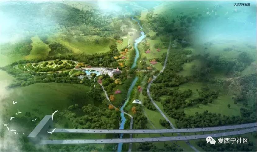 距海湖新区核心区仅2公里   未来,火烧沟将成为   西宁市山区绿色