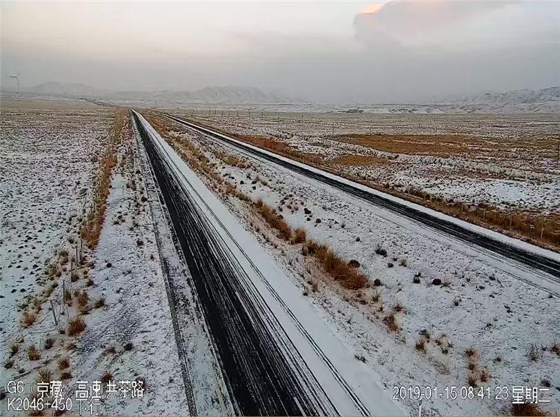 受降雪影响多个路段积雪,多条班线车停运!