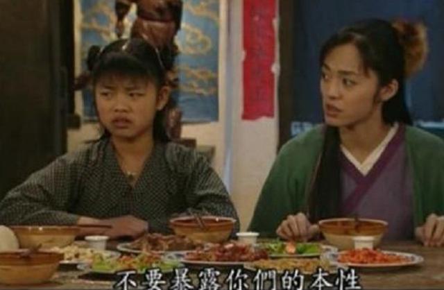 演员们吃饭都是道具,只有《武林外传》是现做的,拍完直接开饭