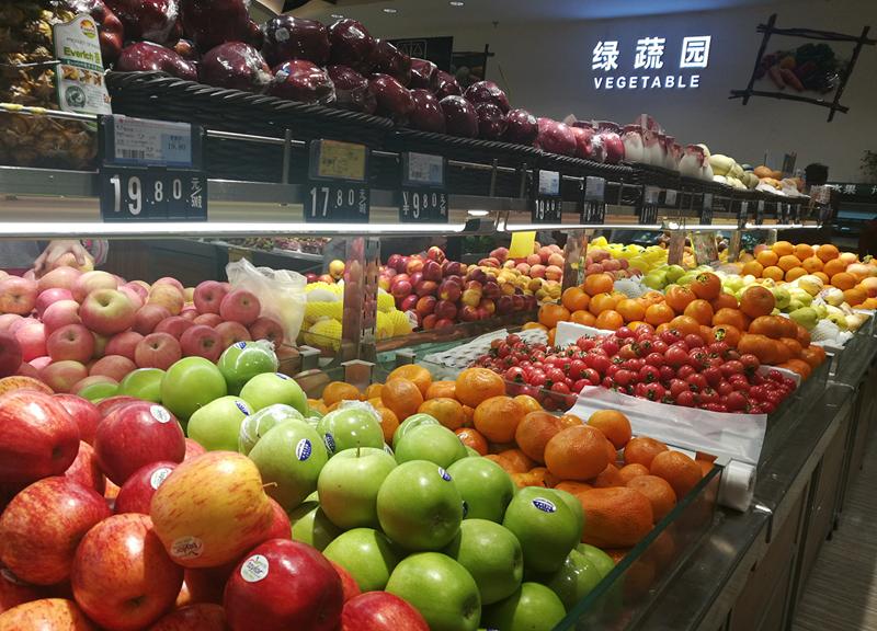纺织品超市的水果真的超贵,都吃不起了