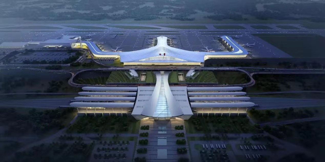 西宁机场三期扩建工程试验段开工!