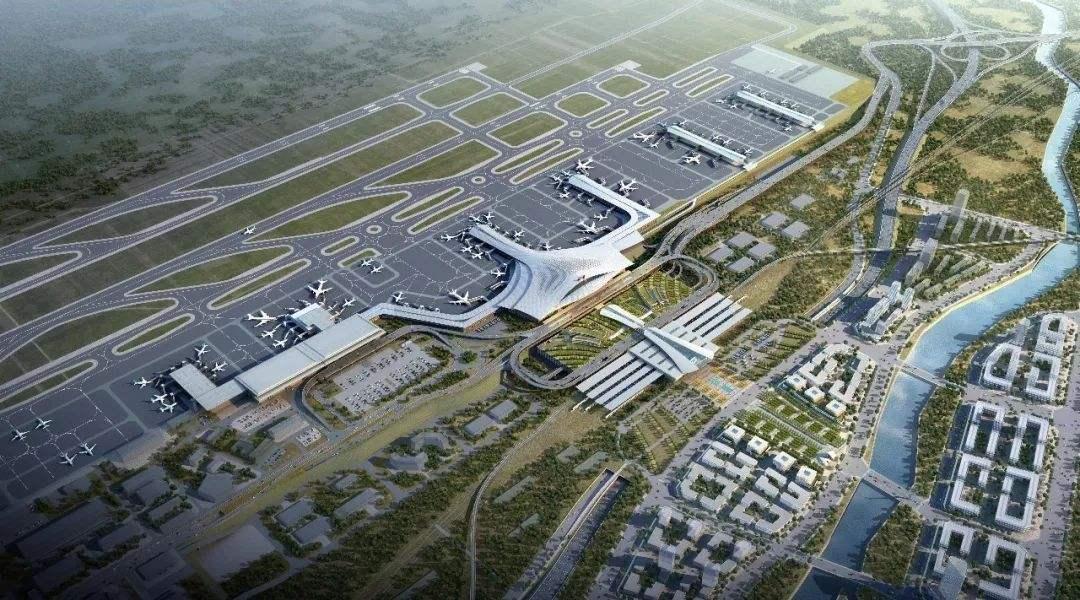 曹家堡机场三期扩建创造五个第一次!
