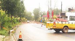 平安区古城乡因强降雨堵塞路段恢复通行