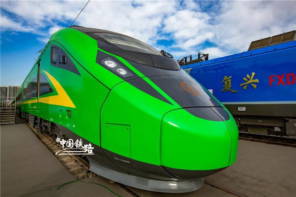 好事!兰州至西宁加开时速160公里复兴号动车组列车