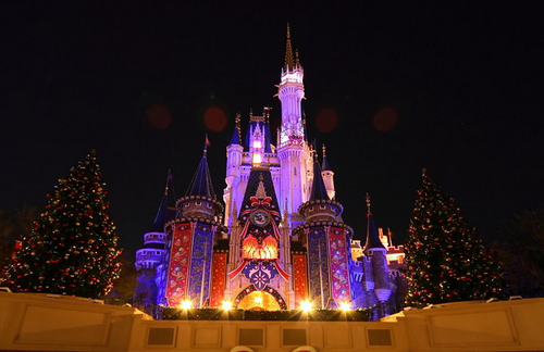 双飞迪士尼游!圣诞季,不能错过